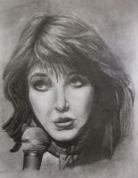 '80s Kate Bush - Portrait by CurlyWurly808