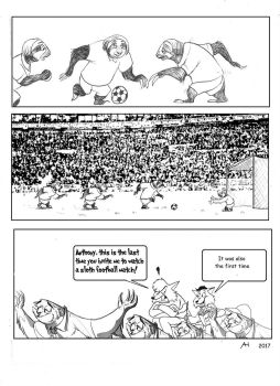 ZNN A Long (And Boring) Football Match by FairytalesArtist