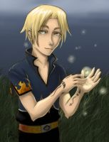 Criss and the Fireflies by sammich