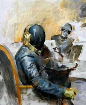 Daft Punk 2009 by kyzylhum
