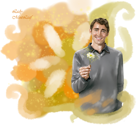Ned ( Pushing Daisies ) - Lee Pace by LadyMintLeaf