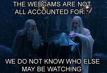 LotR Meme - NSA PSA by shadesmaclean