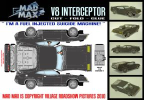 Mad Max - V8 Interceptor by mikedaws