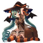 Witch miku by indecisive-bird
