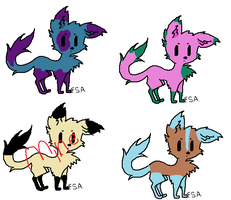 Free adopts!! (Closed 0/3) by Wolfy9008y
