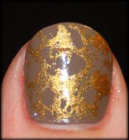 Sponging With Gold by mslaynie