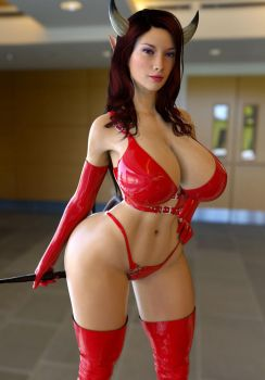 Molly Dominatrix Cosplay Red by ArchivistOmega