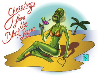 Greetings from the Black Lagoon by DonGueroLabs