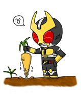Chibi Agito by ToaKarou