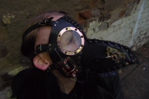 Plague doctor mask - steampunk version by ChanceZero