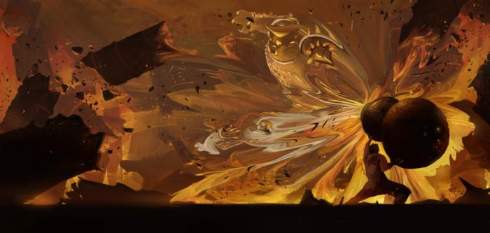 Gold and Silver Horn vs Monkey King by claw0208