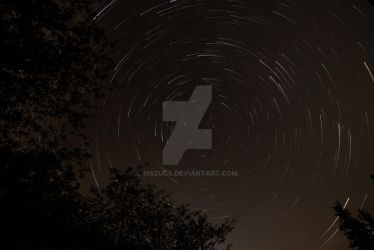 Startrails over Slovakia by mszucs