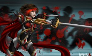 Blood Fighter Fiora by Emiriic