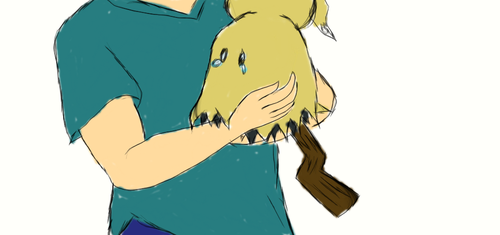 Don't Cry Mimikyu, I Like You Just the Way You Are by angeltiger777