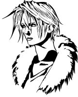 Squall Leonhart by Branbot