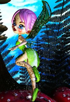 Forest Fairy 2 by Black-Chii-07