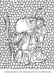Free Colouring page! Dwarven Mage by IRealTidyDesignI