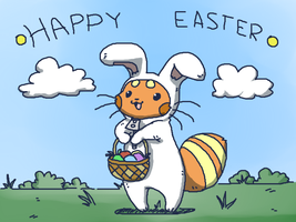 Happy Easter by MasaBear