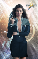 Agent Donna Petterson, Callsign ''Chance'' by Auctor-Lucan