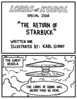 Lords of Kobol - Title Page by LarryKingUndead