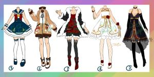 Adoptable : Outfits [CLOSED] by ZylenXia