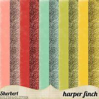 Sherbert Solids and Glitter by harperfinch