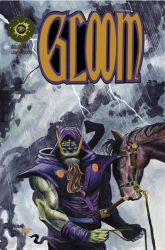 Gloom Issue Zero Cover by patrickstrange