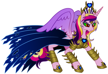 Corrupted Cadance Vector by Rose-Beuty