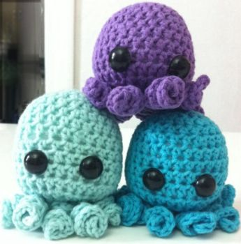 Octopuses!! by Youki-ko