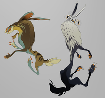 Strange Hares: [CLOSED] by orcafall
