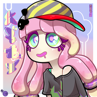 Chirpy Chips Girl by HeartStringsXIII