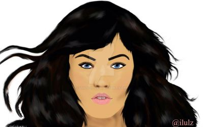 Megan Fox Vector by LuLu-17