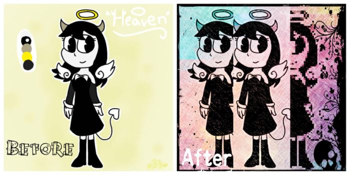 before and after heaven by NickH2O11
