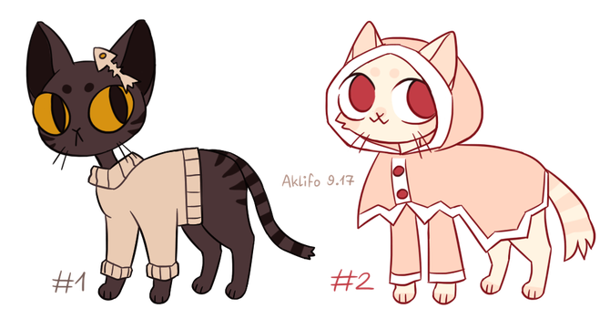 cat adopts [closed] by Aklifo