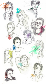 Face and visage by aichiko