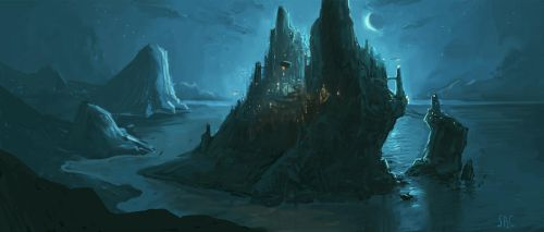 Shadow's Stronghold by seancruz