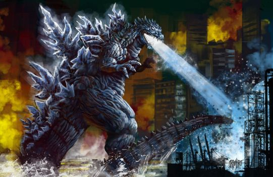 13 Nights 2012 GODZILLA by Grimbro