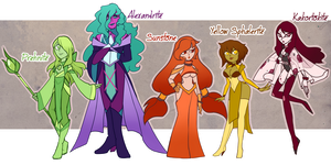 [SU] A Colorful Array of Gems by BritishMindslave