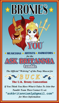 Ask Britannia Needs You by AskBritanniaMLP