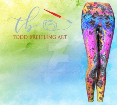 Galaxy Glitter Leggings by immortalimages