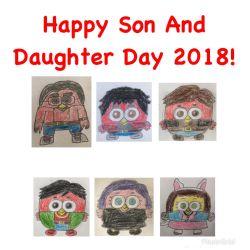 Happy Son And Daughter Day 2018! by RaphaelFernandez2001