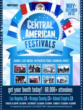 Central American Festival of Los Angeles by LorenzoP-Design