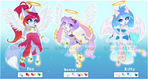 ADOPT: Seraph series [CLOSED] by MetalPandora