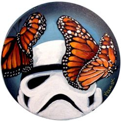 Stormtrooper Butterflies Series 9/9 by TrampLamps