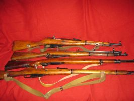 WWII Rifles by vonmeer