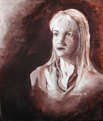 Renee O'Connor as Gabrielle by jensequel