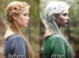 Colorinze (Before and After) by AnGel-Perroni