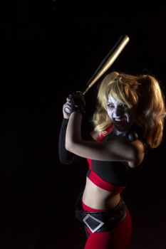 Assault on Arkham Harley - Yahtzee! by SailorMappy