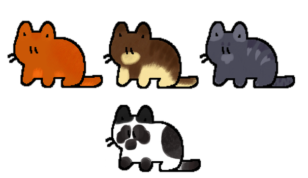 Cat adopts- Set your own price! (OPEN) by Telap