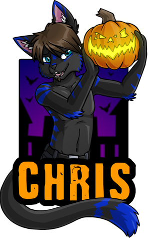 Chris Badge by KristKC